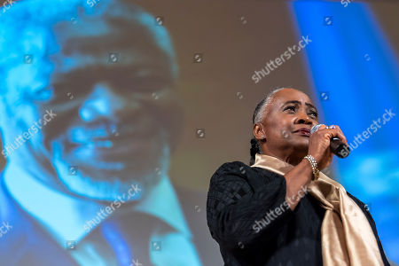 Opera singer Barbara Hendricks sings during a celebration of Kofi Annan's Life, in the Assembly Hall at the European headquarters of the United Nations (UN) in Geneva, Switzerland, 27 September 2018. Kofi Annan the seventh Secretary General of the United Nations passed away on 18 August 2018 at age 80.