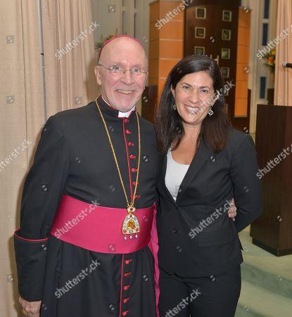Bishop Peter Eaton and Rabbi Judith Lazarus Siegal