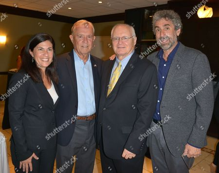Stock Image of Rabbi Judith Lazarus Siegal, Michael Putney, David Lawrence Jr. and Mitchell Kaplan