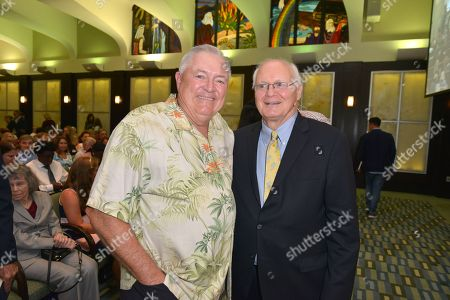 Author David Lawrence Jr. and Les Standiford