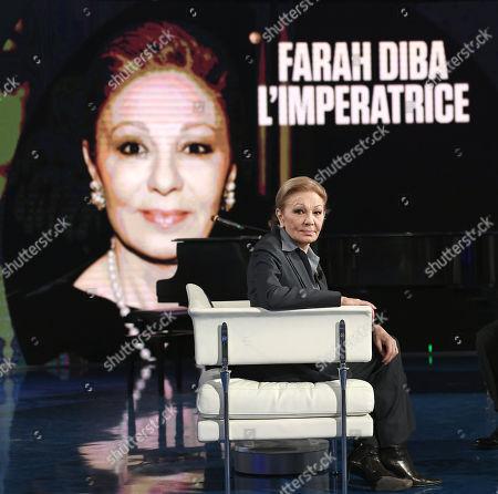 Empress Farah Pahlavi born Farah Diba widow of Mohammad Reza Pahlavi Shah of Iran