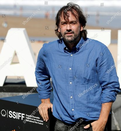 Film director Isaki Lacuesta poses during the photocall of 'Entre dos aguas' at the San Sebastian International Film Festival, in San Sebastian, Basque Country, Spain, 27 September 2018. The 66th edition of the SSIFF runs from 21 to 29 September.