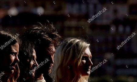 Cast members, actors (L-R) Mia Goth, Juliette Binoche, Robert Pattinson and Agata Buzek pose during the photocall of the film 'High Life' presented in the official section of the San Sebastian International Film Festival (SSIFF), in San Sebastian, Basque Country, Spain, 27 September 2018. The 66th edition of the SSIFF runs from 21 to 29 September.