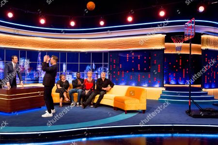 Jonathan Ross, Olly Murs, Kerry Godliman, Mo Gilligan, Prue Leith, Paul Hollywood