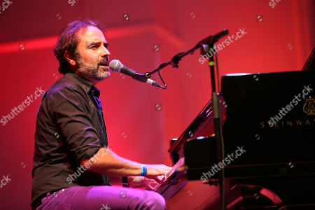 Stock Image of Eric Ranzoni playing at the London International Boogie Woogie Festival