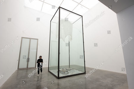 Art installation titled  9 x 9 x 9 by artist Anselm Kiefer. The work is showing at the White Cube Gallery.