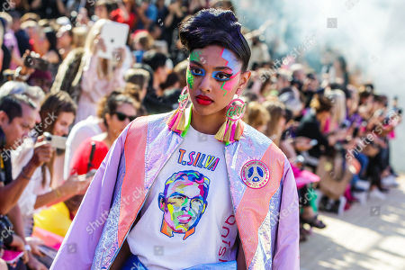 Editorial picture of Manish Arora - Runway -  Paris Fashion Week S/S 2019, France - 27 Sep 2018