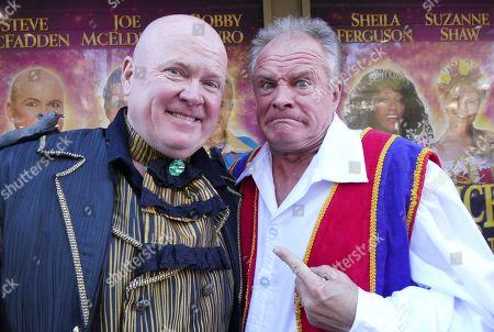 Steve McFadden and Bobby Davro