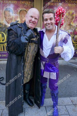 Steve McFadden and Joe McElderry