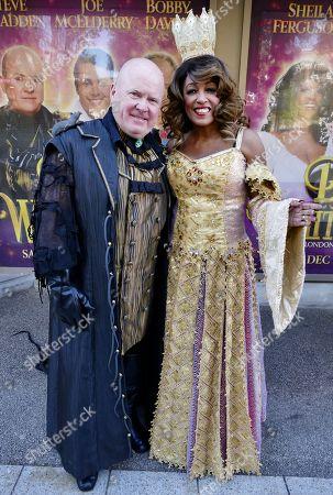 Stock Picture of Steve McFadden and Sheila Ferguson