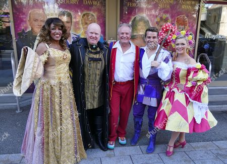 Editorial picture of 'Dick Whittington' pantomime photocall, The Mayflower Theatre, Southampton, UK - 27 Sep 2018