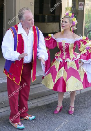 Bobby Davro and Suzanne Shaw