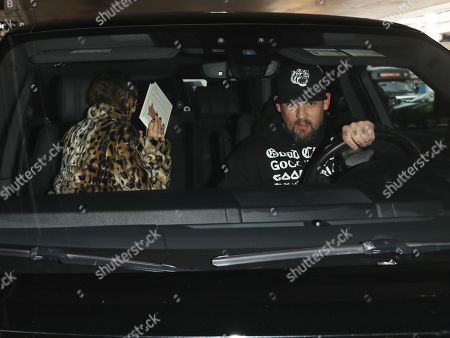 Stock Photo of Nicole Richie and Joel Madden