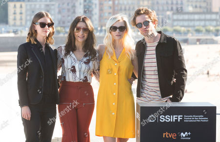 Editorial picture of 'High Life' photocall, 66th San Sebastian Film Festival, Spain - 27 Sep 2018