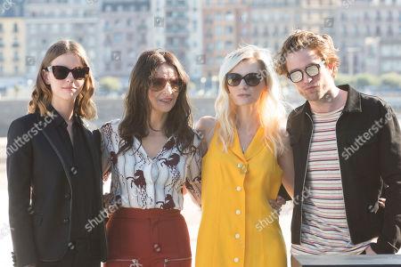 Stock Image of Robert Pattinson, Juliette Binoche, Mia Goth, Agata Buzek, Scarlett Lindsey, Claire Denis