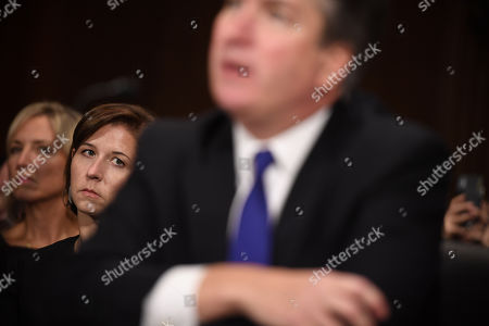 Editorial photo of Senate Judiciary Committee Brett Kavanaugh nomination hearing, Washington DC, USA - 27 Sep 2018
