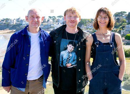 Ian Hart, Rupert Grint and Kate Dickie
