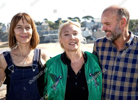 Kate Dickie, Emmanuelle Bercot and Thierry Lacaze