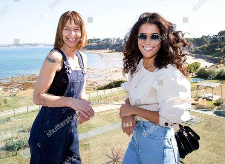 Kate Dickie and Sabrina Ouazani