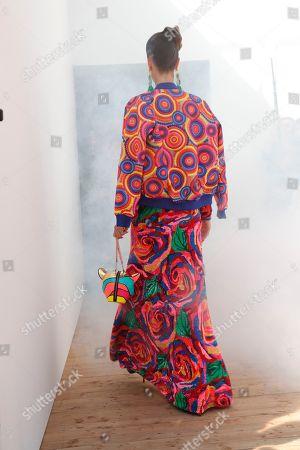 Editorial image of Manish Arora show, Runway, Spring Summer 2019, Paris Fashion Week, France - 27 Sep 2018