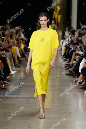 Editorial picture of Rochas show, Runway, Spring Summer 2019, Paris Fashion Week, France - 26 Sep 2018