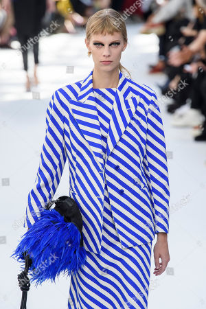 Stock Image of Lexi Boling on the catwalk