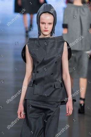 Editorial picture of Maison Margiela show, Runway, Spring Summer 2019, Paris Fashion Week, France - 26 Sep 2018