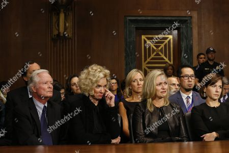 Editorial picture of Senate Judiciary Committee Brett Kavanaugh nomination hearing, Washington DC, USA - 27 Sep 2018