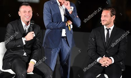 Editorial picture of Francesco Totti book presentation, Rome, Italy - 27 Sep 2018