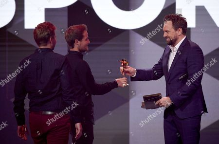 Editorial photo of YouTube Goldene Kamera Digital Awards 2018 in Berlin, Germany - 27 Sep 2018