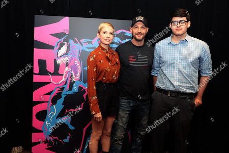Editorial photo of Sony Pictures 'Venom' film photocall, Los Angeles, USA - 27 Sep 2018