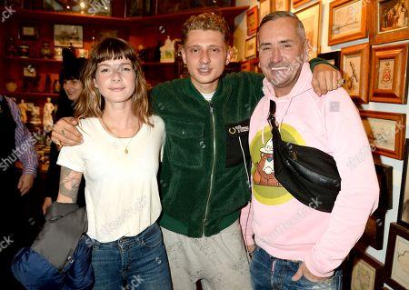 Lotty Sanna, Blondey McCoy and Fat Tony