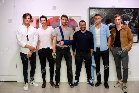Stock Picture of Photographer Mariano Vivanco and models