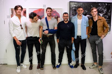 Editorial picture of 'Boys! Boys! Boys!' exhibition preview, The Little Black Gallery, London, UK - 27 Sep 2018