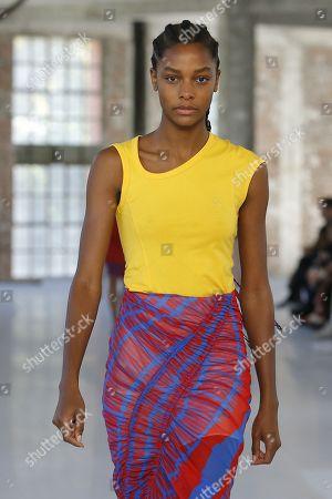 Editorial photo of Atlein show, Runway, Spring Summer 2019, Paris Fashion Week, France - 27 Sep 2018