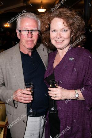 Phil Davis and Eve Matheson