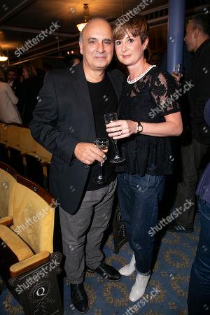 Peter Polycarpou and Madelaine Brennan