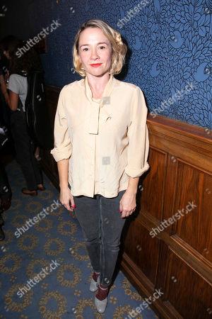 Editorial image of 'Pinter at the Pinter' party, Press Night, London, UK - 27 Sep 2018