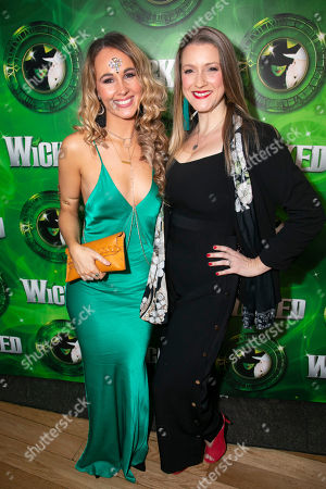 Stock Picture of Maria Coyne (Glinda) and Alice Fearn (Elphaba)