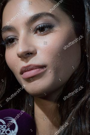 Spanish model Rocio Crusset