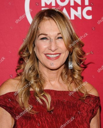 """Deborah Dugan attends """"Write (RED), End AIDS"""" hosted by Montblanc and (RED) at World of McIntosh Townhouse, in New York"""