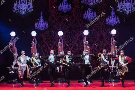 Editorial photo of Opera North 'The Merry Widow', Leeds Grand Theatre, UK - 27 Sep 2018