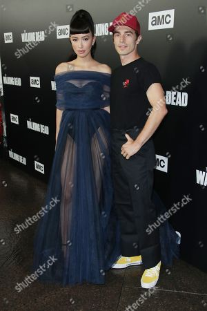 Editorial photo of 'The Walking Dead' TV Show premiere, Los Angeles, USA - 27 Sep 2018