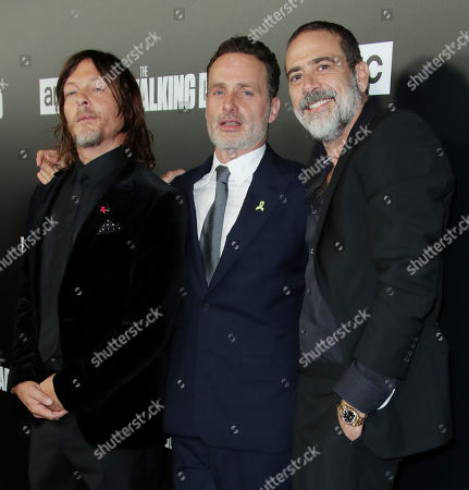 Norman Reedus, Andrew Lincoln and Jeffrey Dean Morgan