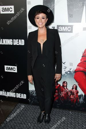 Editorial picture of 'The Walking Dead' TV Show premiere, Los Angeles, USA - 27 Sep 2018
