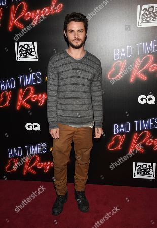 """Shiloh Fernandez attends a special screening of """"Bad Times at the El Royale"""" at Metrograph, in New York"""