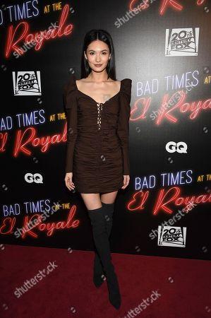 "Editorial photo of NY Special Screening of ""Bad Times at the El Royale"", New York, USA - 27 Sep 2018"