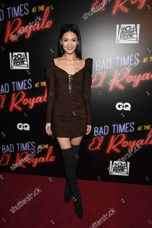 """Stock Picture of Jessica Barta Lam attends a special screening of """"Bad Times at the El Royale"""" at Metrograph, in New York"""