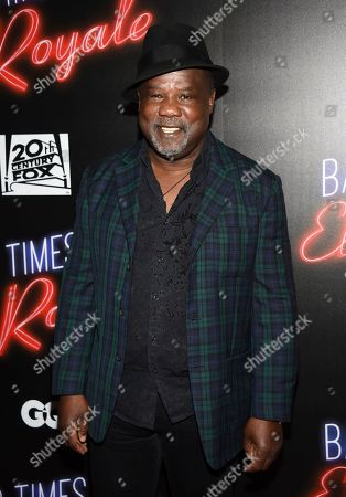 """Isiah Whitlock Jr. attends a special screening of """"Bad Times at the El Royale"""" at Metrograph, in New York"""
