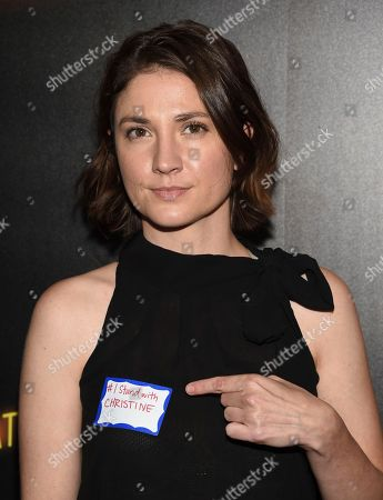 """Ashley Jordyn attends special screening of """"Bad Times at the El Royale"""" at Metrograph, in New York"""